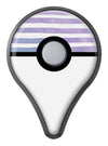 Purple to Green WaterColor Ombre Stripes Pokémon GO Plus Vinyl Protective Decal Skin Kit