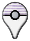 Purple to Yellow WaterColor Ombre Stripes Pokémon GO Plus Vinyl Protective Decal Skin Kit