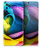 Rainbow Dyed Rose V3 - Skin-Kit for the Samsung Galaxy S-Series S20, S20 Plus, S20 Ultra , S10 & others (All Galaxy Devices Available)