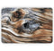 "Raw Aged Knobby Wood - Skin Decal Wrap Kit Compatible with the Apple MacBook Pro, Pro with Touch Bar or Air (11"", 12"", 13"", 15"" & 16"" - All Versions Available)"