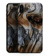 Raw Aged Knobby Wood - iPhone XS MAX, XS/X, 8/8+, 7/7+, 5/5S/SE Skin-Kit (All iPhones Available)