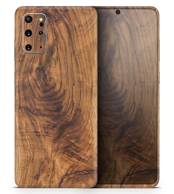 Raw Wood Planks V11 - Skin-Kit for the Samsung Galaxy S-Series S20, S20 Plus, S20 Ultra , S10 & others (All Galaxy Devices Available)