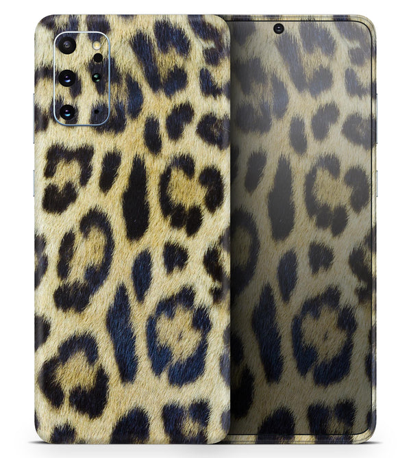 Real Leopard Hide V3 2 - Skin-Kit for the Samsung Galaxy S-Series S20, S20 Plus, S20 Ultra , S10 & others (All Galaxy Devices Available)
