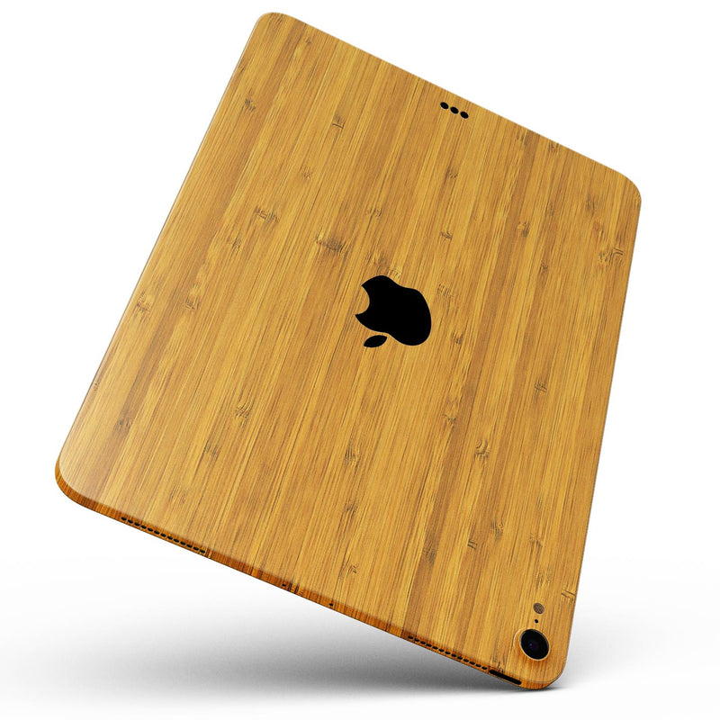 "Real Light Bamboo Wood - Full Body Skin Decal for the Apple iPad Pro 12.9"", 11"", 10.5"", 9.7"", Air or Mini (All Models Available)"