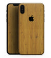 Real Light Bamboo Wood - iPhone XS MAX, XS/X, 8/8+, 7/7+, 5/5S/SE Skin-Kit (All iPhones Available)