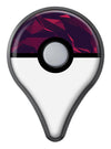 Red Chiseled Geometric Shapes Pokémon GO Plus Vinyl Protective Decal Skin Kit