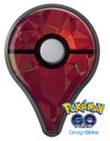 Red Geometric V2 Pokémon GO Plus Vinyl Protective Decal Skin Kit