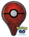 Red Orange Geometric V13 Pokémon GO Plus Vinyl Protective Decal Skin Kit