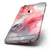 The Red Pink 3 Absorbed Watercolor Texture Six-Piece Skin Kit for the iPhone 6/6s or 6/6s Plus