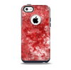 Red Splotted Paint Texture Skin for the iPhone 5c OtterBox Commuter Case
