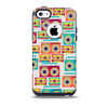 Retro Boombox PatternSkin for the iPhone 5c OtterBox Commuter Case