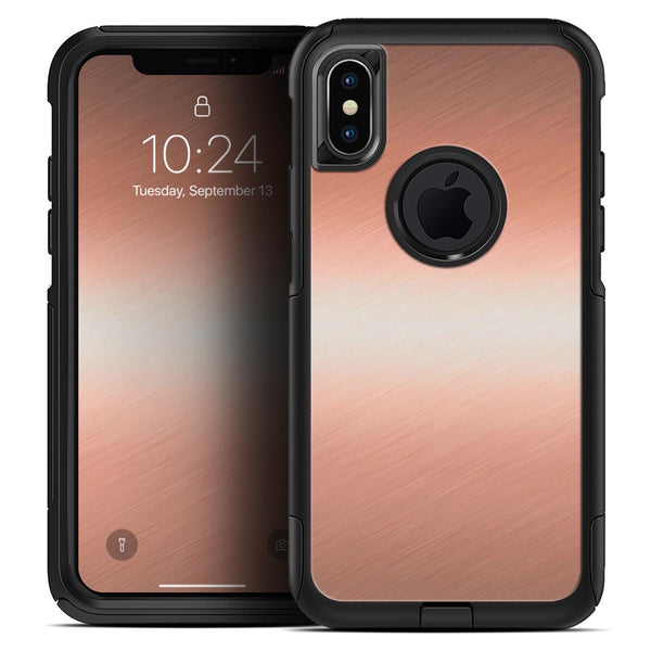 Rose Gold Digital Brushed Surface V1 - Skin Kit for the iPhone OtterBox Cases