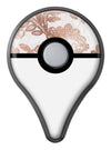 Rose Gold Lace Pattern 10 Pokémon GO Plus Vinyl Protective Decal Skin Kit