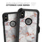 Rose Pink Marble & Digital Gold Frosted Foil V9 - Skin Kit for the iPhone OtterBox Cases