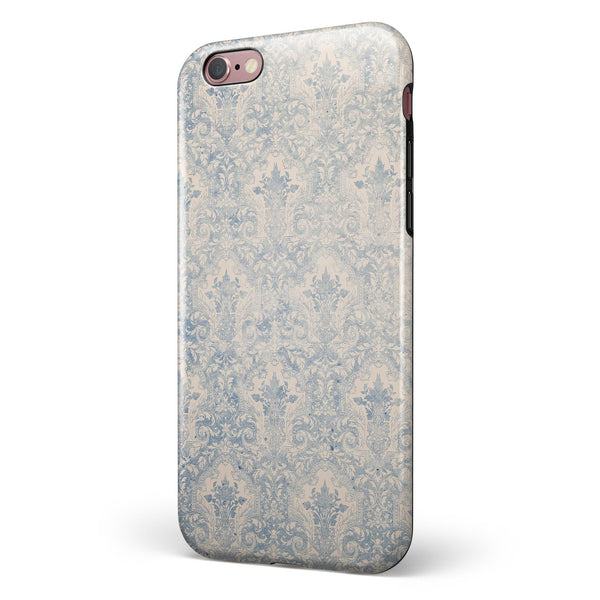 Royal Winds of Winter Pattern iPhone 6/6s or 6/6s Plus 2-Piece Hybrid INK-Fuzed Case
