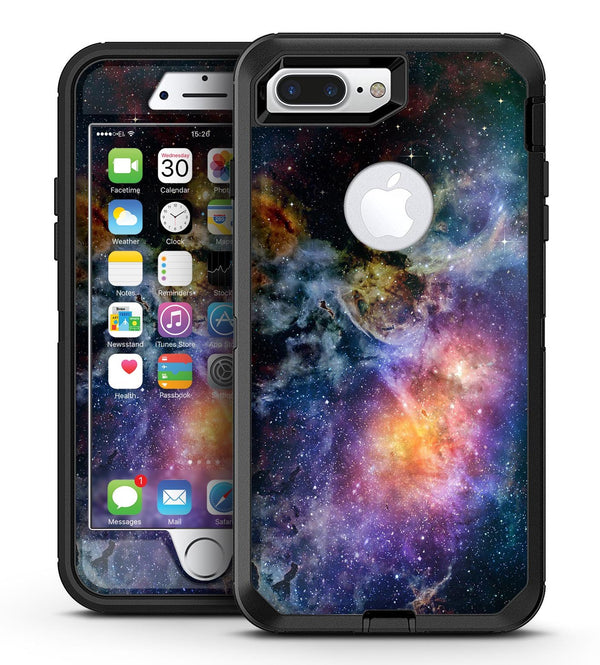 Rust and Bright Neon Colored Stary Sky - iPhone 7 Plus/8 Plus OtterBox Case & Skin Kits