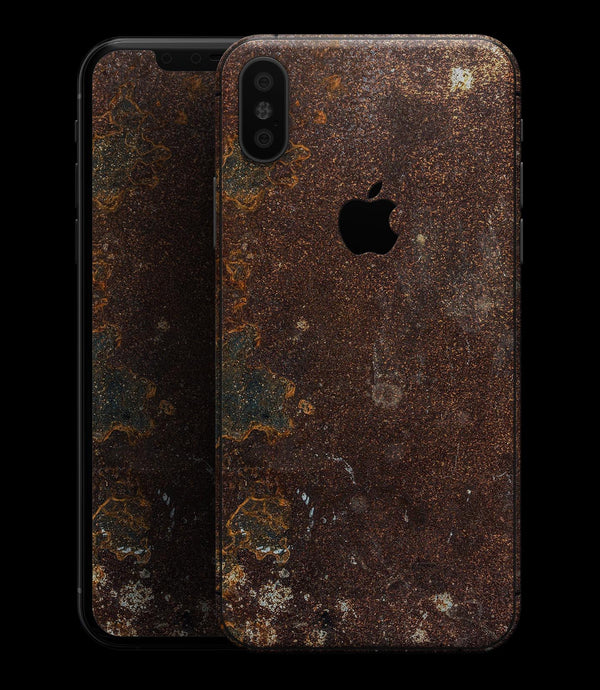 Rustic Textured Surface V3 - iPhone XS MAX, XS/X, 8/8+, 7/7+, 5/5S/SE Skin-Kit (All iPhones Available)