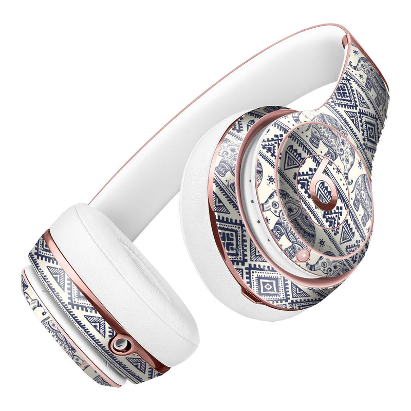 Sacred Elephant Pattern Full-Body Skin Kit for the Beats by Dre Solo 3 Wireless Headphones