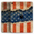 "Scratched Surface Peeled American Flag - Full Body Skin Decal for the Apple iPad Pro 12.9"", 11"", 10.5"", 9.7"", Air or Mini (All Models Available)"