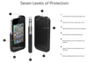 The Black LifeProof Case for the iPhone 4/4s