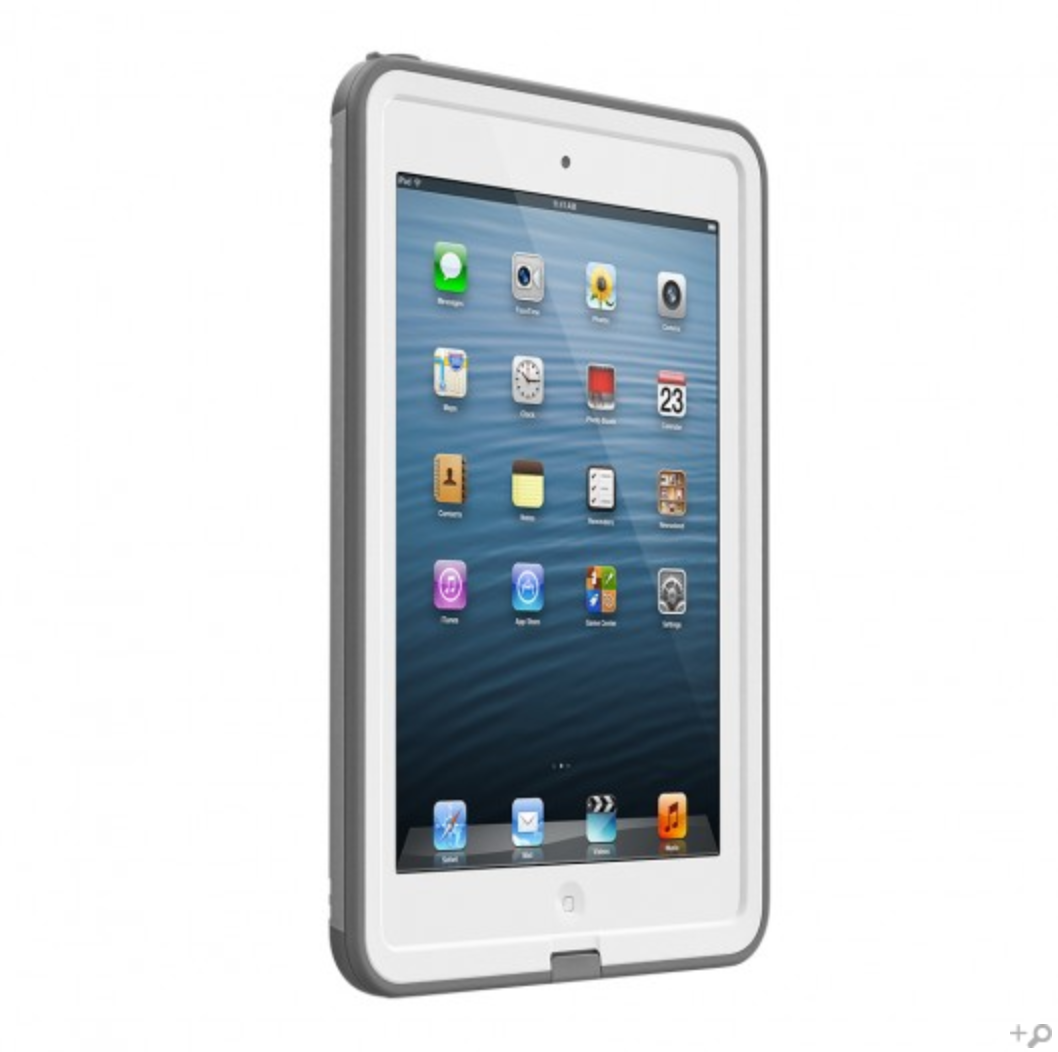 best loved 0bbad bc511 The White Fre LifeProof Case for the Apple iPad Mini