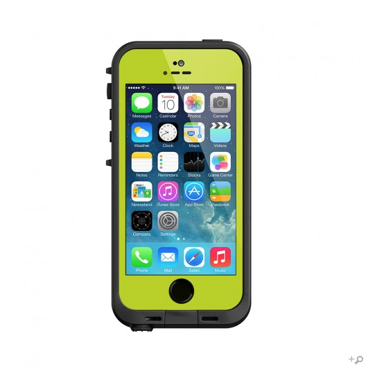 best sneakers 721b2 4b5b7 The Lime & Black LifeProof FRE Case for the iPhone 5s