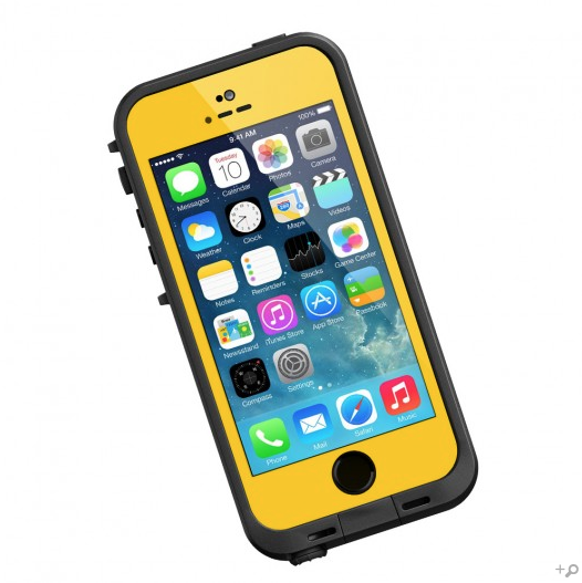size 40 33816 28374 The Yellow & Black LifeProof FRE Case for the iPhone 5s