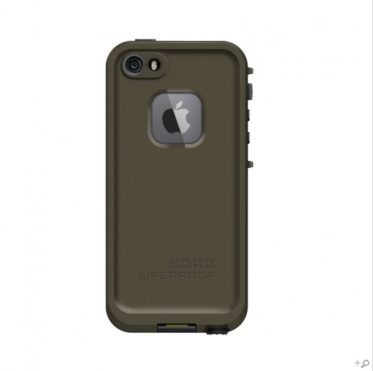 huge discount 89e20 6d1cf The Olive Drab Green & Black LifeProof FRE Case for the iPhone 5s