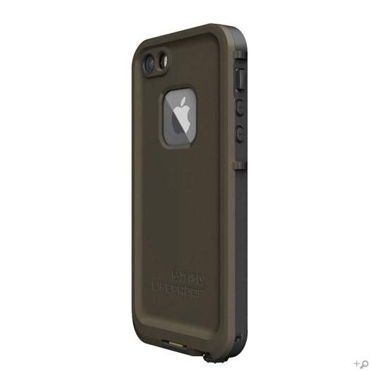huge discount 7ee31 6fe0c The Olive Drab Green & Black LifeProof FRE Case for the iPhone 5s