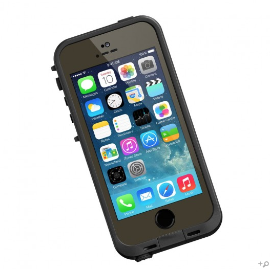 The Olive Drab Green & Black LifeProof FRE Case for the iPhone 5s