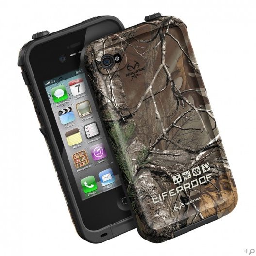 check out 74bae 1b8e5 The Black & Realtree Xtra LifeProof Limited-Edition Realtree iPhone Case  for the iPhone 4s / 4