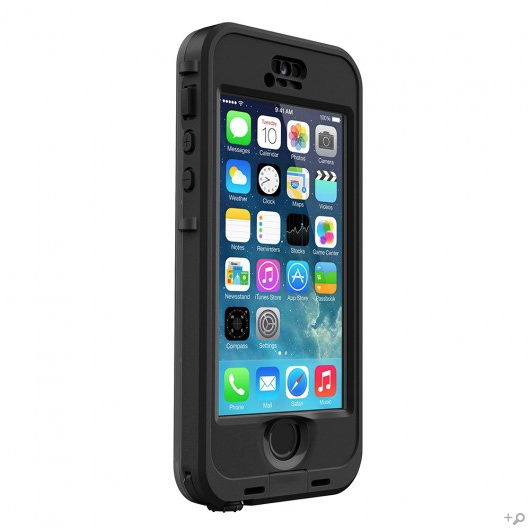 The Black LifeProof iPhone 5s nüüd Case