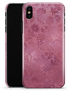 Shiny Pink Floral Pattern - iPhone X Clipit Case