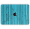 "Signature Blue Wood Planks - Skin Decal Wrap Kit Compatible with the Apple MacBook Pro, Pro with Touch Bar or Air (11"", 12"", 13"", 15"" & 16"" - All Versions Available)"