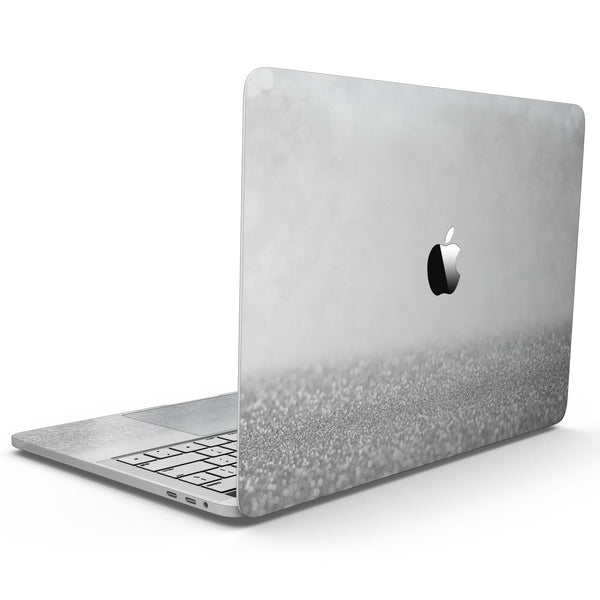 MacBook Pro with Touch Bar Skin Kit - Silver_and_White_Unfocused_Sparkle_Orbs-MacBook_13_Touch_V9.jpg?