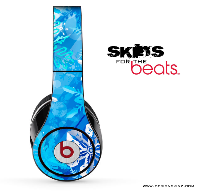 Frosted Blue Skin for the Beats by Dre