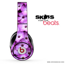 Purple Daisies Skin for the Beats by Dre
