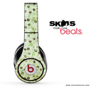 Vintage Green Pattern Skin for the Beats by Dre