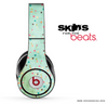 Green Vintage Stars Skin for the Beats by Dre