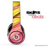 Pink & Yellow Strawed Skin for the Beats by Dre