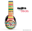 Color Striped Abstract Skin for the Beats by Dre