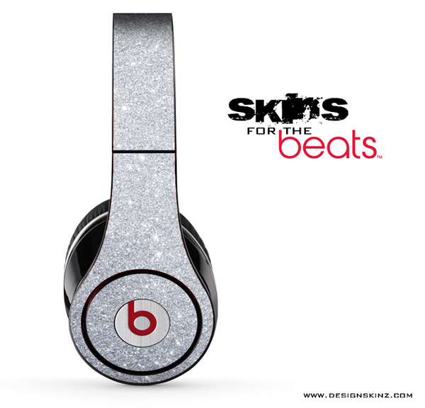 Silver Glitter Ultra Metallic Skin for the Beats by Dre