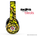 Yellow Butterfly Bundle Skin for the Beats by Dre