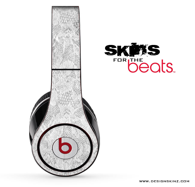 White Lace Skin for the Beats by Dre