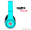 Solid Turquoise Skin for the Beats by Dre