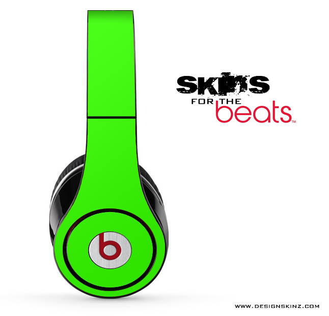 Solid Lime Green For The Beats By Dre Designskinz