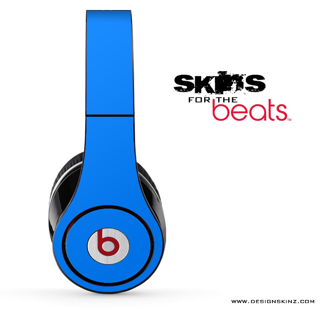 Solid Blue for the Beats by Dre