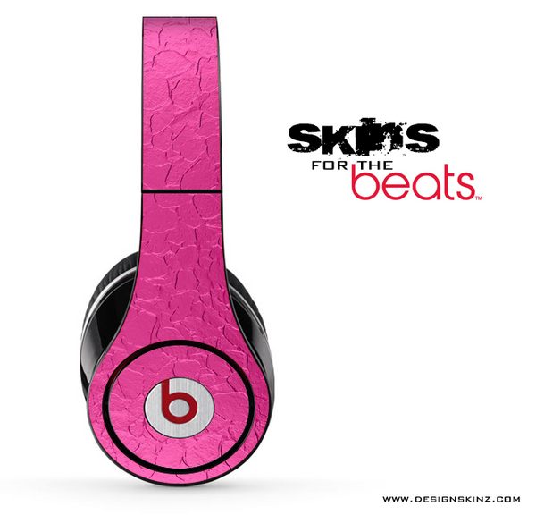Pink Stamped Metal Skin for the Beats by Dre