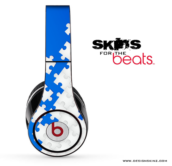 Blue & White Puzzle Skin for the Beats by Dre