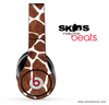 Real Giraffe Pattern Skin for the Beats by Dre